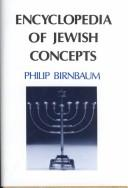 Cover of: Encyclopedia of Jewish Concepts