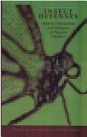 Cover of: Insect defenses |