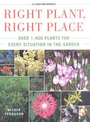 Right plant, right place by Nicola Ferguson