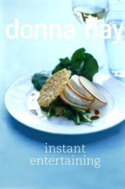 Cover of: Instant Entertaining | Donna Hay
