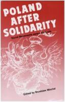 Cover of: Poland after Solidarity: Social Movements vs. the State