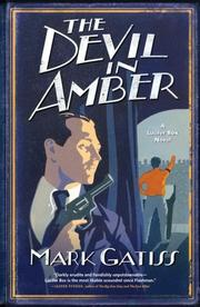 Cover of: The Devil in Amber: A Lucifer Box Novel