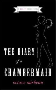 Cover of: The Diary of a Chambermaid | Octave Mirbeau