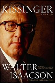 Kissinger by Walter Isaacson
