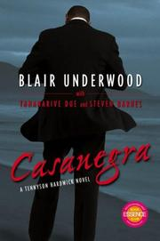 Cover of: Casanegra | Blair Underwood