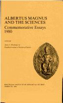 Cover of: Albertus Magnus and the sciences