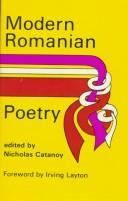 Cover of: Modern Romanian Poetry