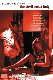 Cover of: The Devil Met a Lady (Toby Peters Mysteries