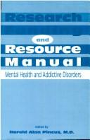 Cover of: Research funding and resource manual |
