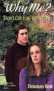 Cover of: Don't Cry for Yesterday