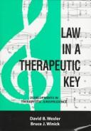 Cover of: Law in a therapeutic key |