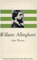Cover of: William Allingham