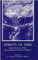 Cover of: Spirits of fire |