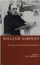 Cover of: William Saroyan | Leo Hamalian