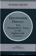 Cover of: Questioning History | Greg Clingham