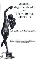 Cover of: Selected Magazine Articles of Theodore Dreiser