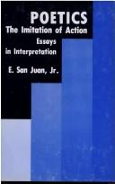 Cover of: Poetics: the imitation of action : essays in interpretation
