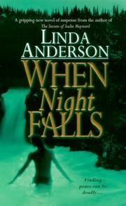 Cover of: When night falls | Anderson, Linda