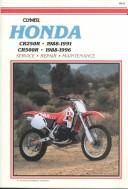 Cover of: Clymer Honda CR250R & CR500R, 1988-1996 |