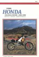 Cover of: Honda Cr125R and Cr250R 1992-1996 | Edward Jacobs