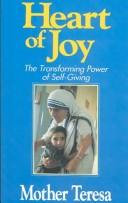 Cover of: Heart of joy