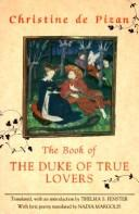 Cover of: The book of the duke of true lovers