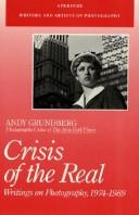 Cover of: Crisis of the real