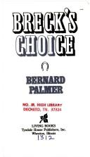 Cover of: Breck's Choice