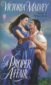 A Proper Affair (Sonnet Books)