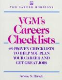 Cover of: VGM's careers checklists