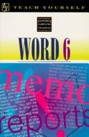 Cover of: Teach Yourself Word 6