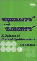 Cover of: Equality and Liberty