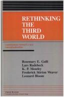 Cover of: Rethinking the Third World | edited by Rosemary Galli.
