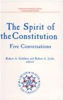 Cover of: The Spirit of the Constitution
