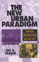 Cover of: The New Urban Paradigm: Critical Perspectives on the City