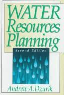 Cover of: Water resources planning