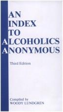 Cover of: An Index to Alcoholics Anonymous (#5204b) | Lundgren