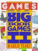 Cover of: Games Magazine Big Book of Games II | Ronnie Shushan