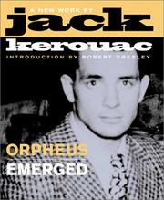 Cover of: Orpheus Emerged