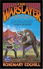 Cover of: The Warslayer | Rosemary Edghill