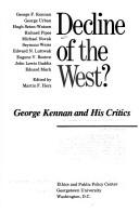 Cover of: Decline of the West?