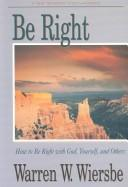 Cover of: Be right
