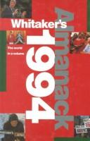 Cover of: Whitaker