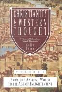 Cover of: Christianity and Western Thought, 1