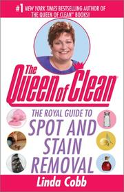 Cover of: The Queen of clean | Linda Cobb