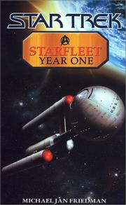 Cover of: Starfleet year one | Michael Jan Friedman