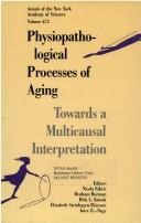 Cover of: Physiopathological Processes of Aging | Nicola Fabris