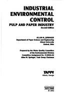 Cover of: Industrial Environmental Control | A.M. Springer
