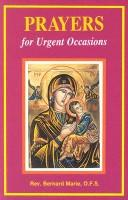 Cover of: Prayers for Urgent Occasions/No. 918/04