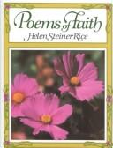 Cover of: Poems of faith